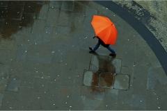 PO002-Walking in the rain-Clifford Wyeth